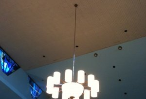12-arm chandelier lit side view 01-08-14