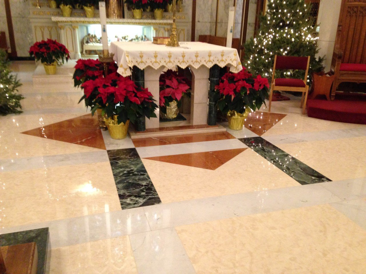 Church Tile Amp Marble Floors Artech Church Interiors