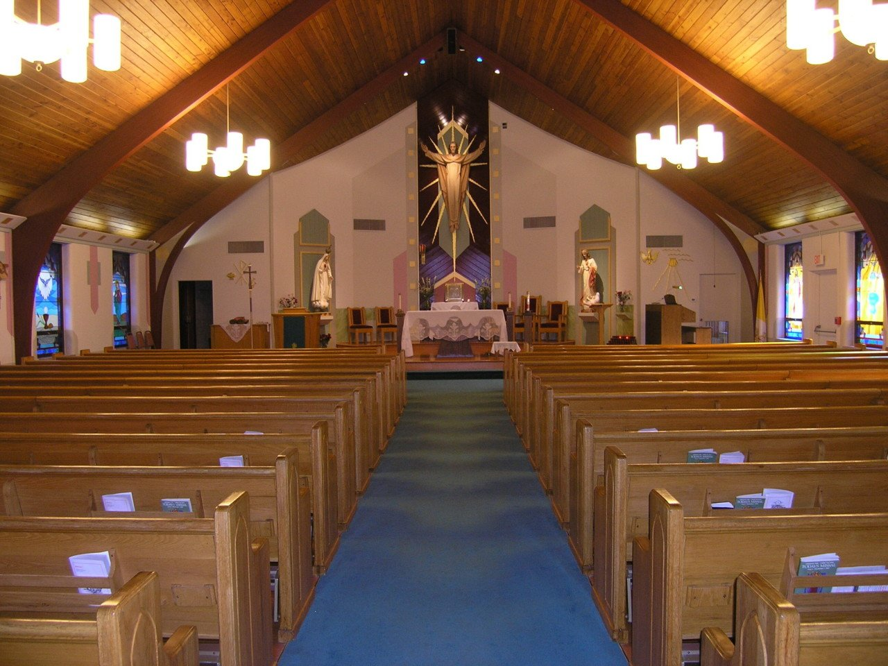 Lighting Upgrade Immaculate Heart of Mary in Danbury, CT