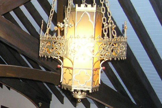 CaseStudy Restoring Church Lighting Fixtures Artech Church Interiors - Church lighting fixtures