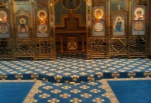 aisle & sanctuary, church of the annunciation, elkins park pa