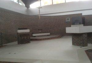 new tile sanctuary floor-photo3