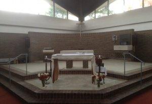 new tile sanctuary floor-photo4