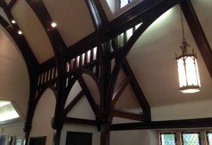 photo 3 oiled beams
