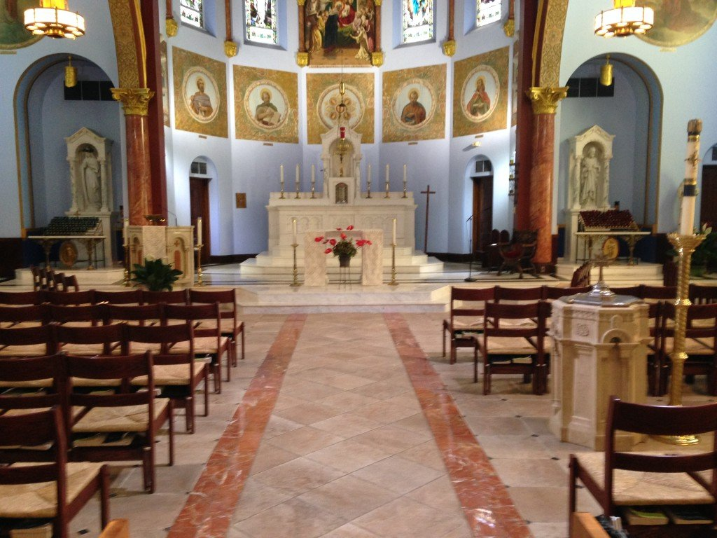 Church Tile Amp Marble Floors Artech Church Interiors
