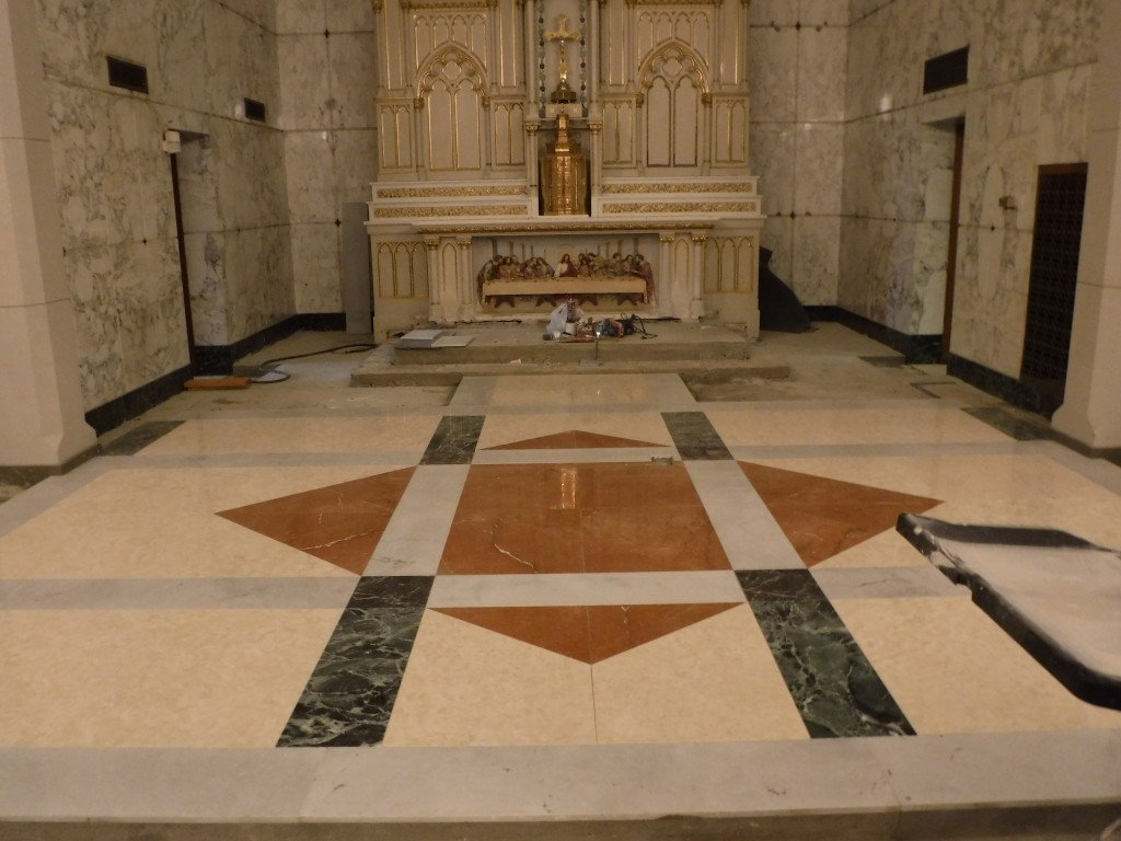 Church Tile & Marble Floors | Artech Church Interiors