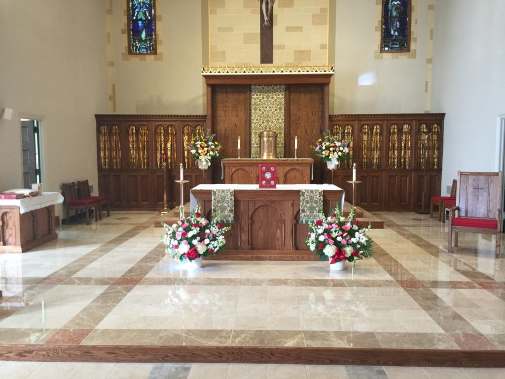 Strange Chancel Area Furnishings Artech Church Interiors Machost Co Dining Chair Design Ideas Machostcouk