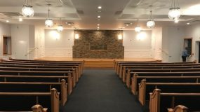 New Pews for Central Islip SDA Church