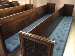 Church Pew Replacement Cushions